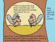 Genesis 18:14 Clipart Sarah shall have a son