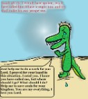Isaiah 48:15 clipart make his way prosperous alligator