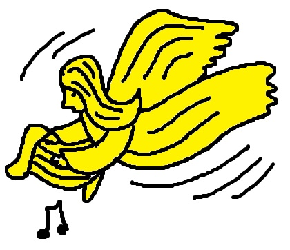 Angel Flying Clipart