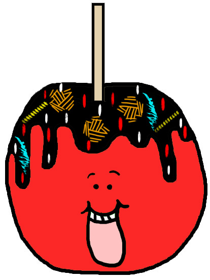 Candy Apples Clipart Candy Apple Clipart