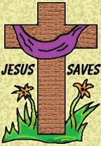Cross Clipart Jesus Saves Easter Clipart