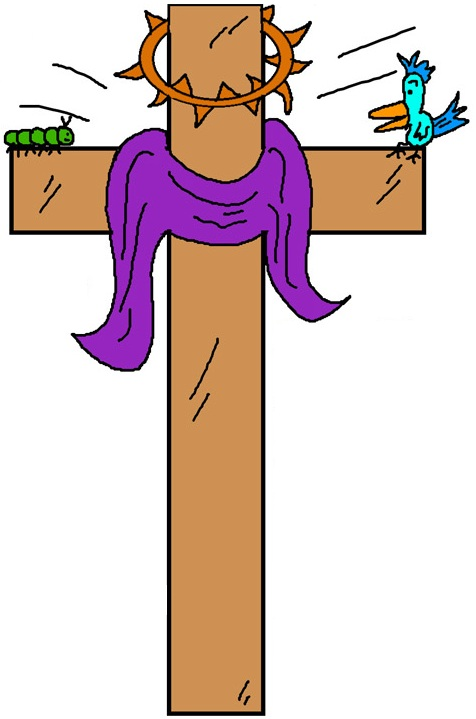 free cross and crown clipart - photo #32