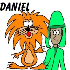 Daniel In The Lion's Den Clipart