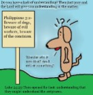 Philippians 3:2 clipart beware of the dogs