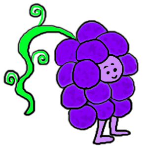 Grape Clipart Clip art cartoons images pictures graphics illustrations
