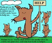 Psalm 72:12 Clipart Lord delivers the needy and poor
