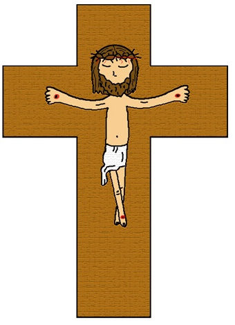 Easter Clipart Jesus died on cross clipart