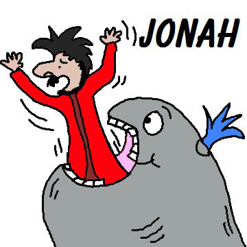 Jonah And Whale Clipart