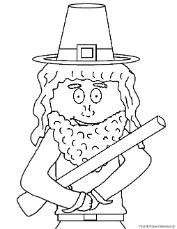 Pilgrim Clip Art Picture Image For Thanksgiving Bulletin Boards