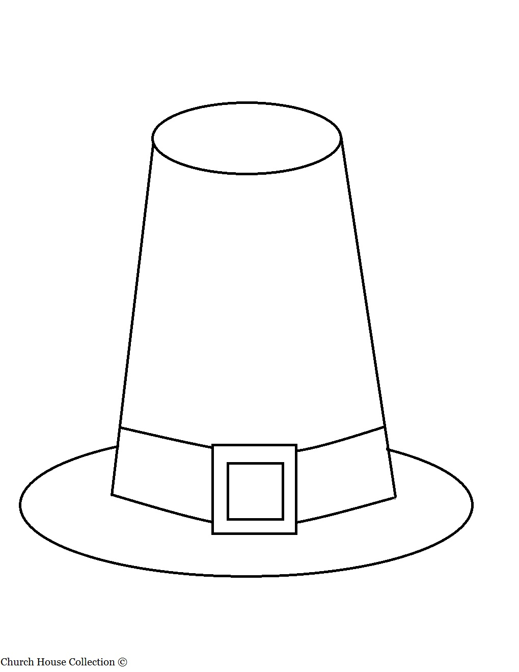 Pilgrim and indian clip art for Indian hat template