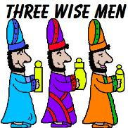 Three Wise Men Clipart
