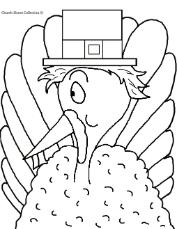 Pilgrim Turkey Clip Art Image Picture For Thanksgiving Bulletin Board