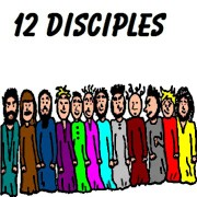 Twelve Disciples Clipart